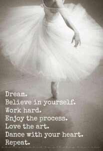 dream big - quote