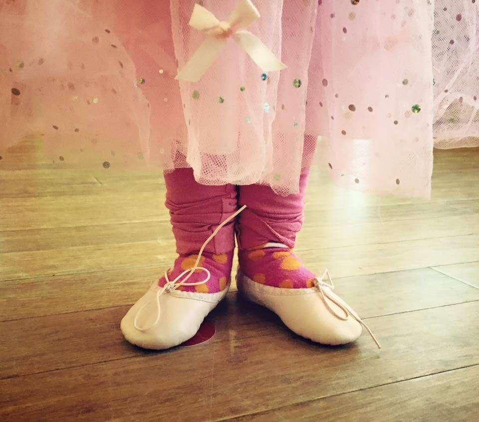 Peuterdans: Ballerina