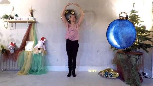 Kerstles Kerstballen Dans